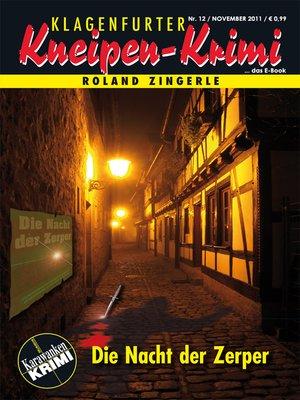 cover image of Die Nacht der Zerper