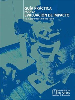 cover image of Guía práctica para la evaluación de impacto