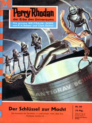 cover image of Perry Rhodan 86