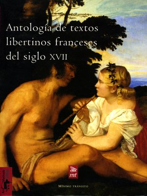 cover image of Antología de textos libertinos franceses del siglo XVII