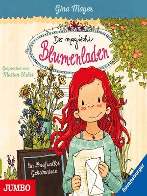 cover image of Der magische Blumenladen. Ein Brief voller Geheimnisse