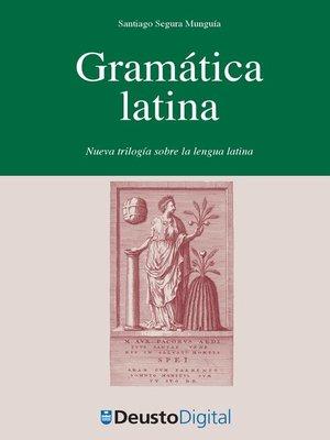 cover image of Gramática Latina