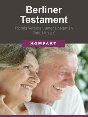 cover image of Berliner Testament