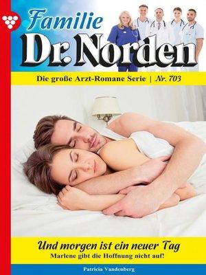 cover image of Familie Dr. Norden 703 – Arztroman