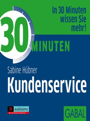 cover image of 30 Minuten Kundenservice