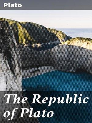 cover image of The Republic of Plato