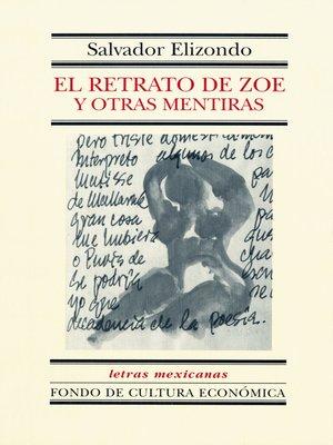 cover image of El retrato de Zoe y otras mentiras