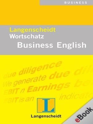 cover image of Langenscheidt Wortschatz Business English