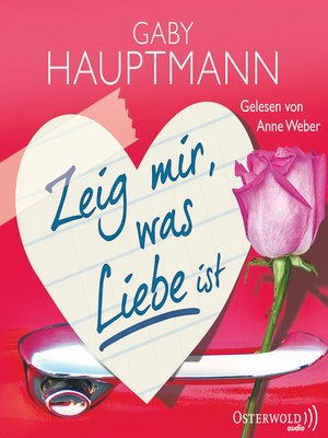 cover image of Zeig mir, was Liebe ist