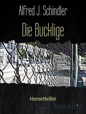 cover image of Die Bucklige