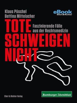 cover image of Tote schweigen nicht