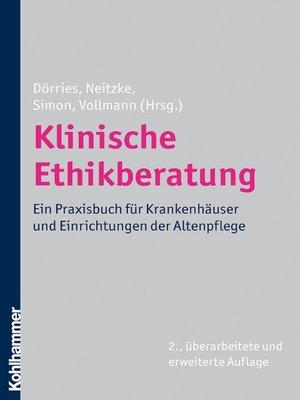 cover image of Klinische Ethikberatung