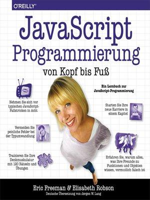 cover image of JavaScript-Programmierung von Kopf bis Fuß