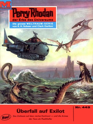 cover image of Perry Rhodan 443