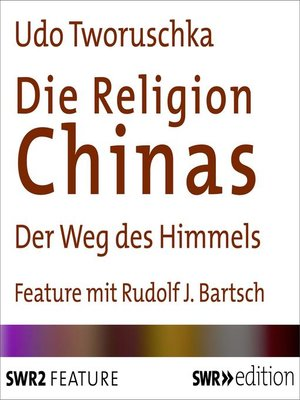 cover image of Die Religion Chinas