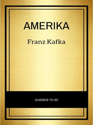 cover image of Amerika