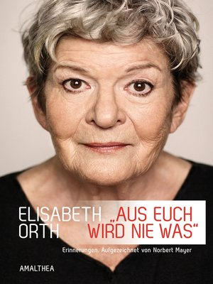 cover image of »Aus euch wird nie was«