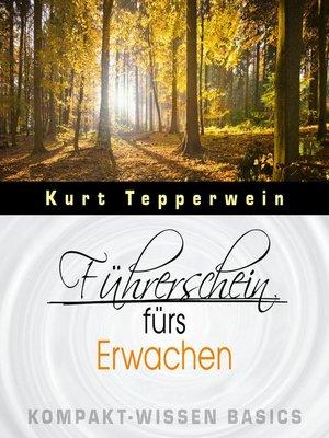 cover image of Führerschein fürs Erwachen--Kompakt-Wissen Basics