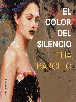 cover image of El color del silencio
