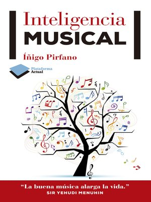cover image of Inteligencia musical