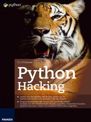 cover image of Python Hacking