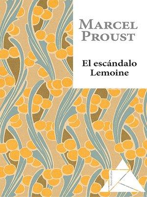 cover image of El escándalo Lemoine