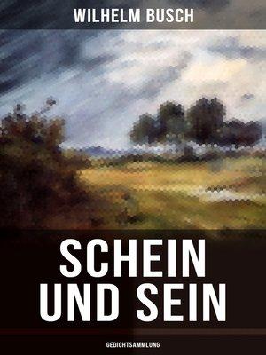 cover image of Schein und Sein (Gedichtsammlung)