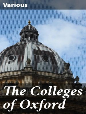 cover image of The Colleges of Oxford