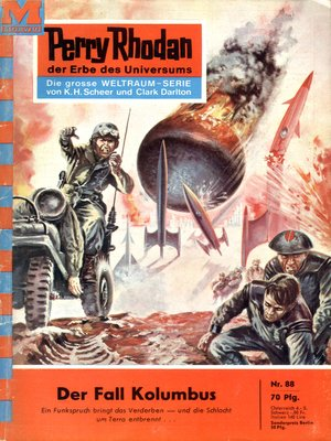 cover image of Perry Rhodan 88