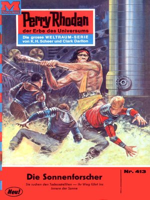 cover image of Perry Rhodan 413