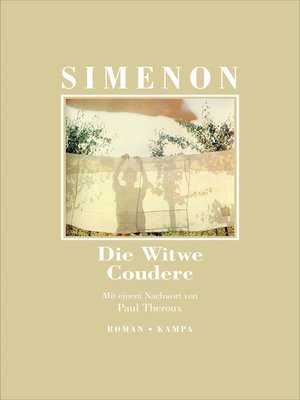 cover image of Die Witwe Couderc