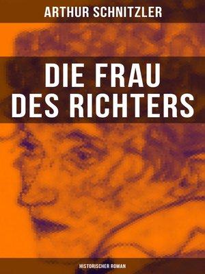 cover image of Die Frau des Richters