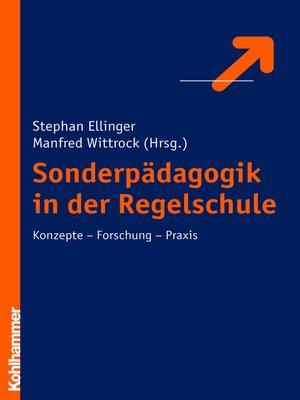cover image of Sonderpädagogik in der Regelschule