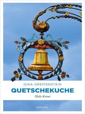 cover image of Quetschekuche