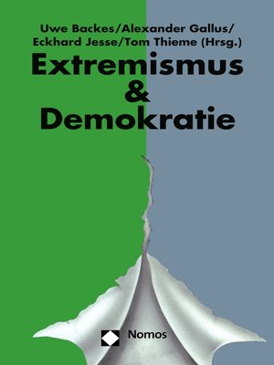 cover image of Jahrbuch Extremismus & Demokratie (E & D)