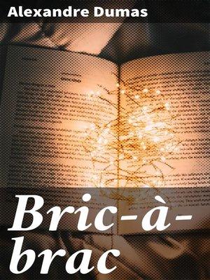 cover image of Bric-à-brac