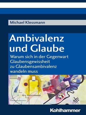 cover image of Ambivalenz und Glaube