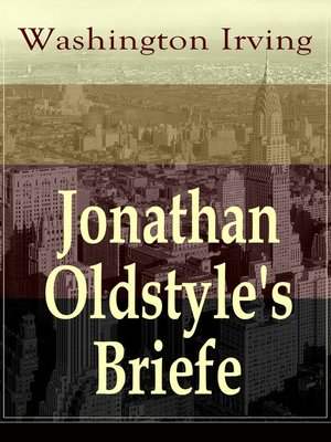 cover image of Jonathan Oldstyle's Briefe