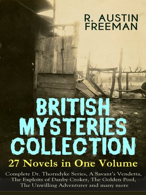 cover image of BRITISH MYSTERIES COLLECTION--27 Novels in One Volume