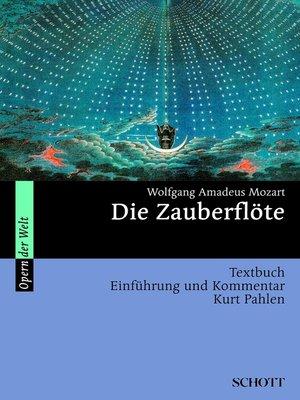 cover image of Die Zauberflöte