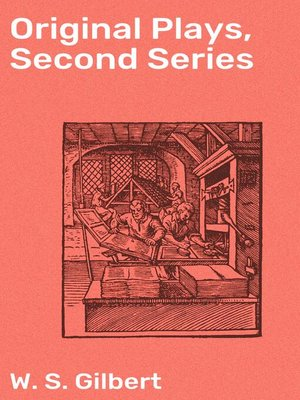 cover image of Original Plays, Second Series