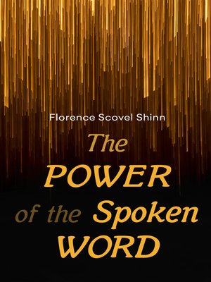 cover image of The Power of the Spoken Word