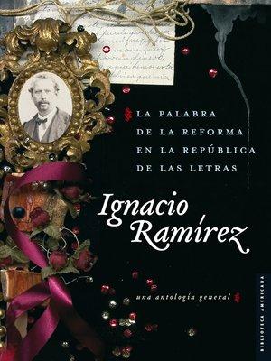 cover image of La palabra de la Reforma en la República de las Letras