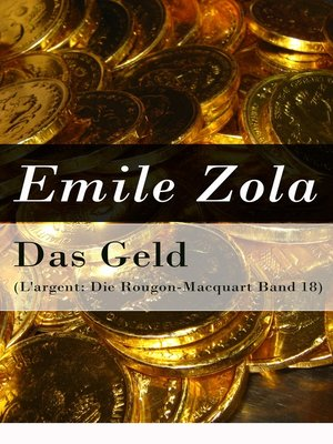 cover image of Das Geld (L'argent