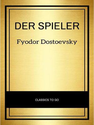 cover image of Der Spieler