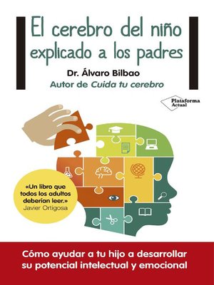 cover image of El cerebro del niño explicado a los padres
