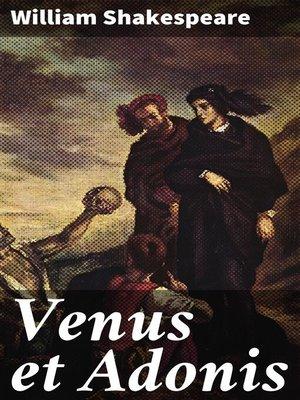 cover image of Venus et Adonis