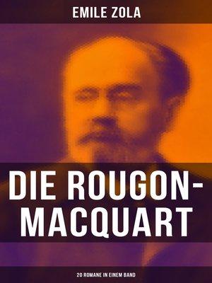 cover image of Die Rougon-Macquart