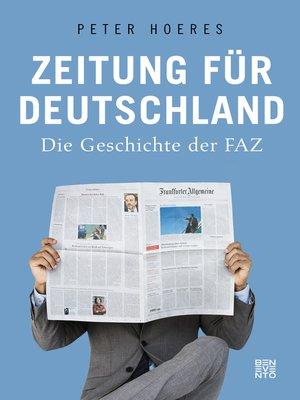 cover image of Zeitung für Deutschland
