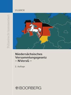 cover image of Niedersächsisches Versammlungsgesetz--NVersG -